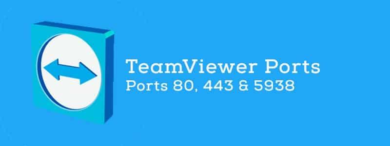 Какие порты использует TeamViewer