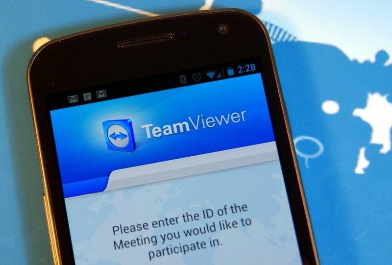 Установить TeamViewer 12